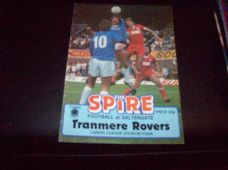 Chesterfield v Tranmere Rovers, 1983/84